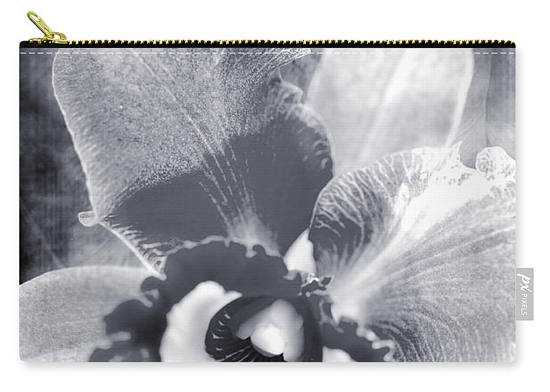 Orchid Carry-all Pouch featuring the photograph One Song by Floyd Menezes