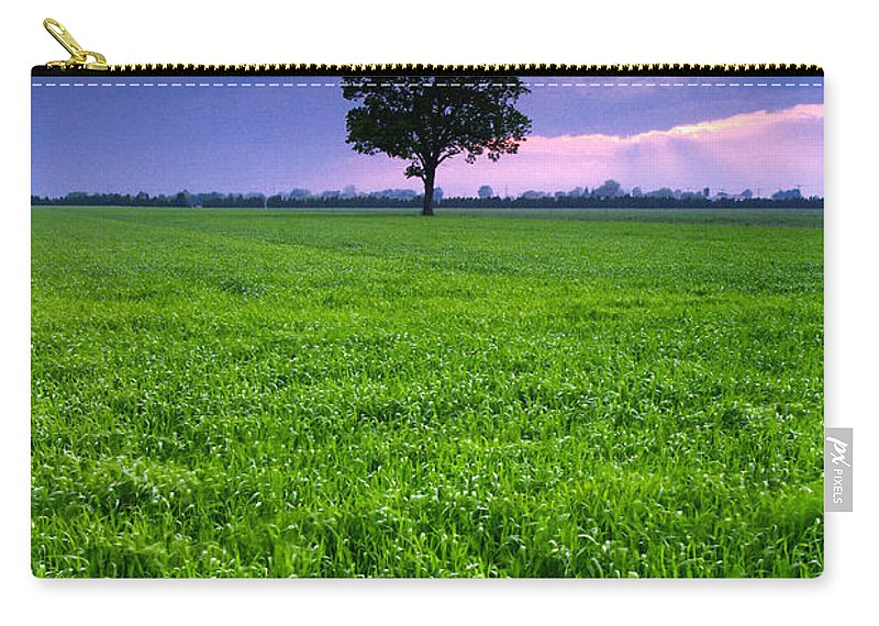 Landscape Carry-all Pouch featuring the photograph One Tree by Cale Best