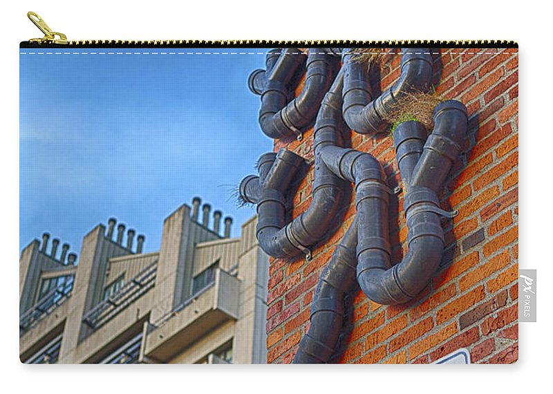 Drainage Carry-all Pouch featuring the photograph One Way To A Wrong Turn by Scott Campbell