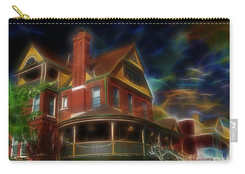 Liane Wright Carry-all Pouch featuring the photograph Only In Your Dreams by Liane Wright