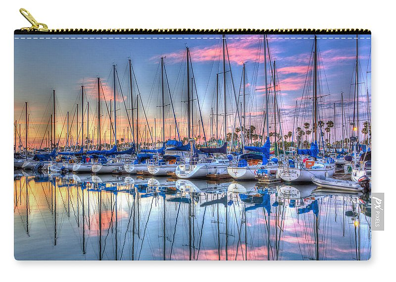 Sunset Carry-all Pouch featuring the photograph Ooh Ahh by Heidi Smith