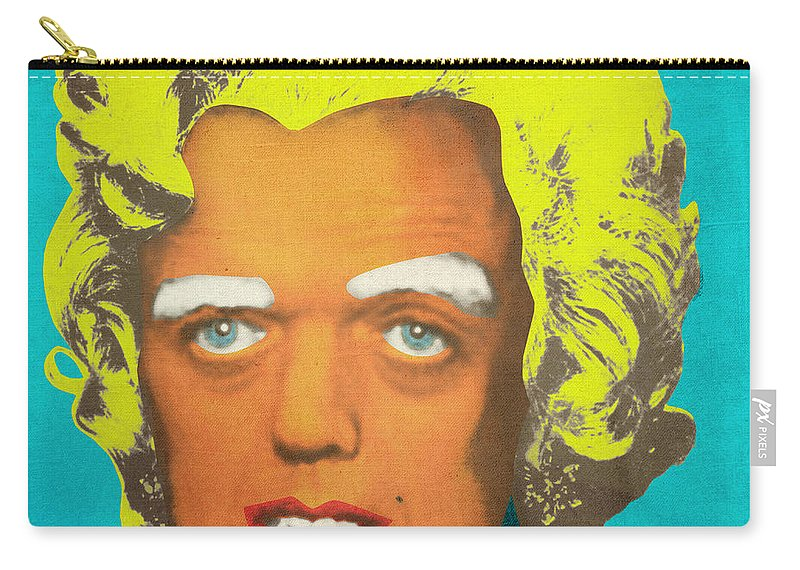 Oompa Carry-all Pouch featuring the digital art Oompa Loompa Blonde by Filippo B