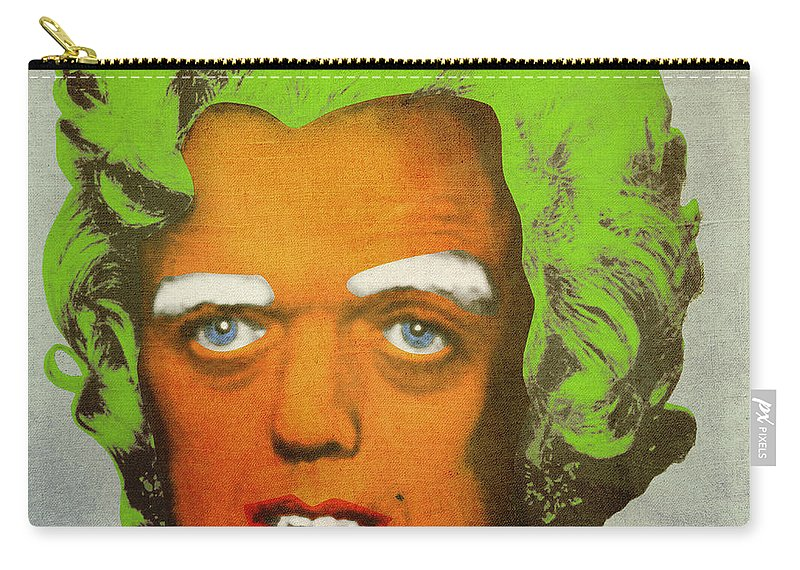 Oompa Carry-all Pouch featuring the digital art Oompa Loompa by Filippo B