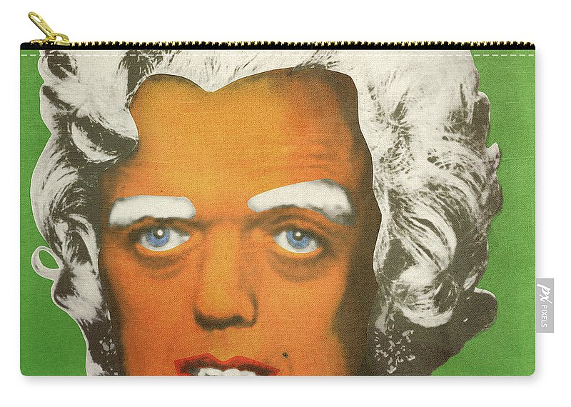 Oompa Carry-all Pouch featuring the digital art Oompa Loompa White by Filippo B