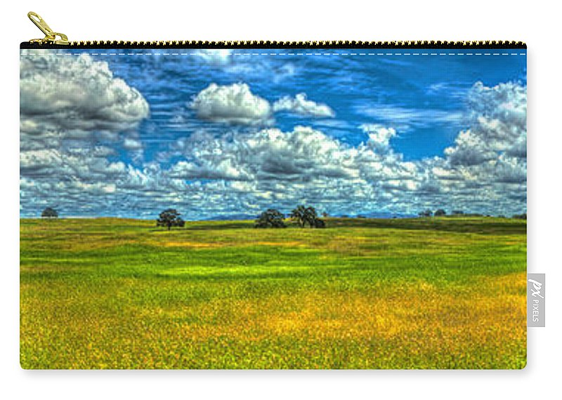 Amador Carry-all Pouch featuring the photograph Open Pastures by SC Heffner