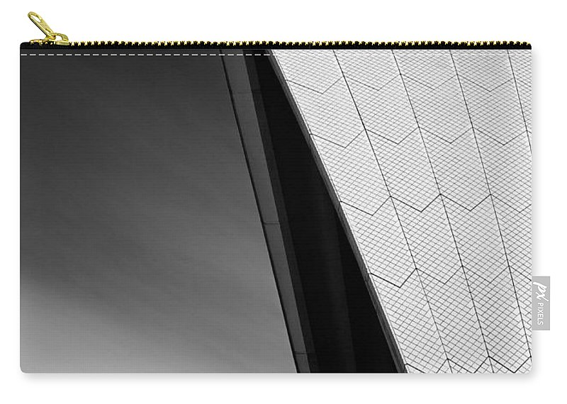 Sydney Opera House Carry-all Pouch featuring the photograph Opera House by Dave Bowman