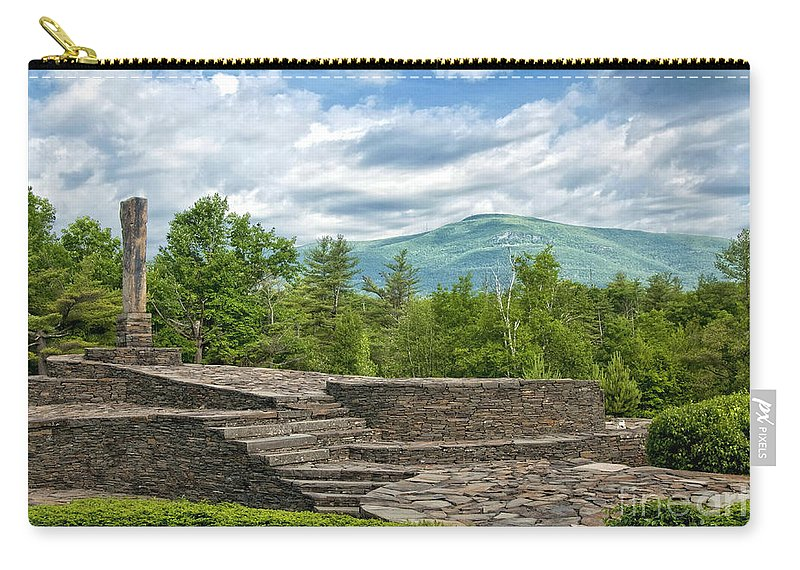 Opus 40 Carry-all Pouch featuring the photograph Opus 40 by Claudia Kuhn