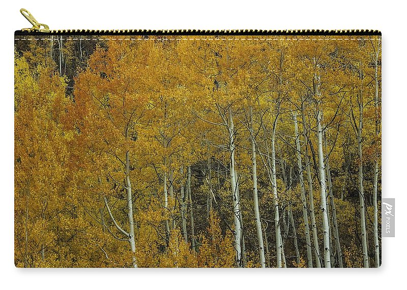 Landscape Carry-all Pouch featuring the photograph Orange Delight by Bill Sherrell
