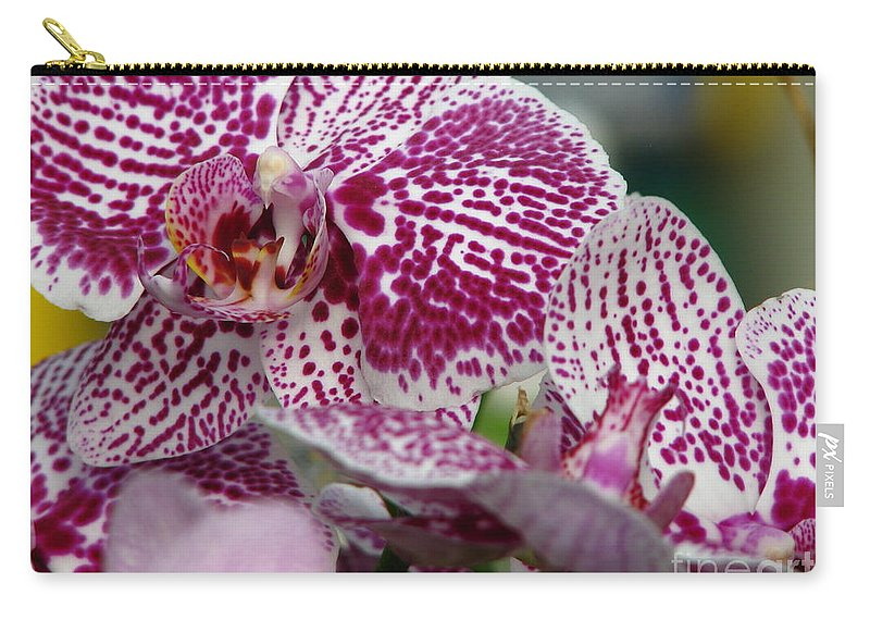 Patzer Carry-all Pouch featuring the photograph Orchid Art by Greg Patzer