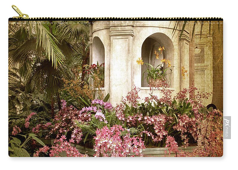 Flowers Carry-all Pouch featuring the photograph Orchid Exhibition by Jessica Jenney