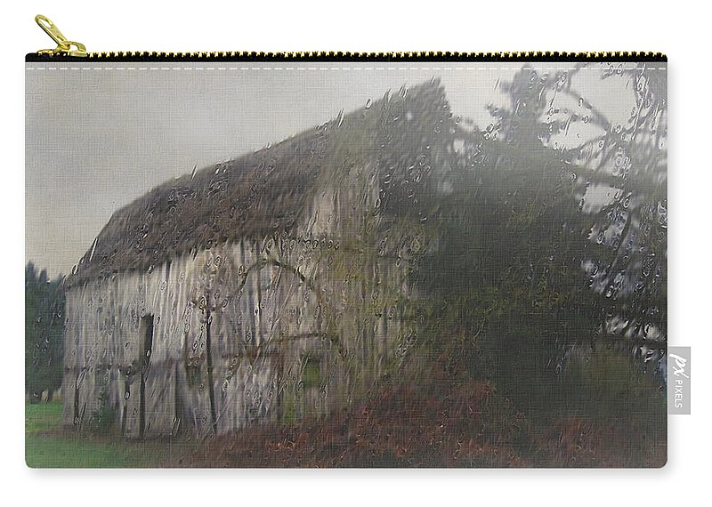 Barn Carry-all Pouch featuring the painting Oregon Relic by RC deWinter