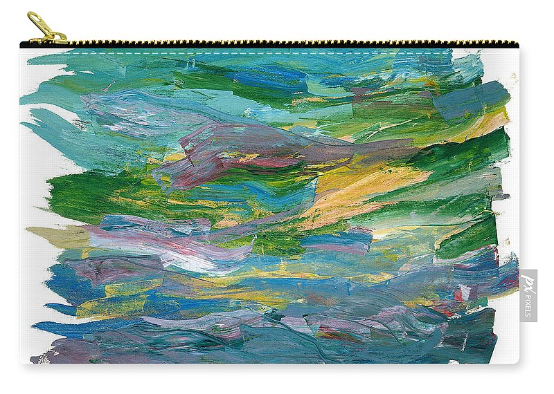 Abstract Carry-all Pouch featuring the painting Osterlen by Bjorn Sjogren