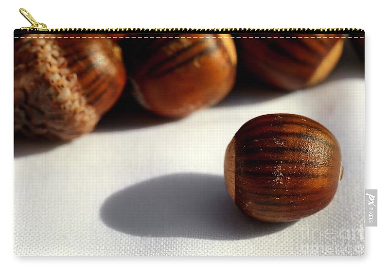 Acorn Carry-all Pouch featuring the photograph Out Of Many - One by Kenny Glotfelty