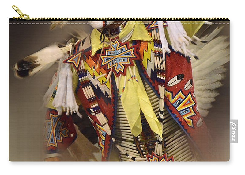 Pow Wow Carry-all Pouch featuring the photograph Out Of Time by Bob Christopher