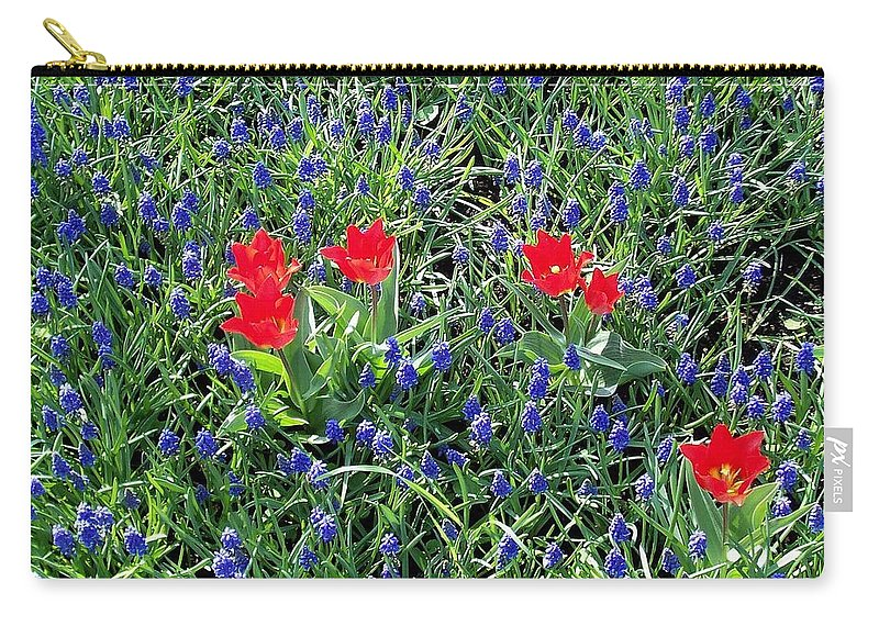 Flower Carry-all Pouch featuring the photograph Outnumbered And Surrounded by Glenn Aker