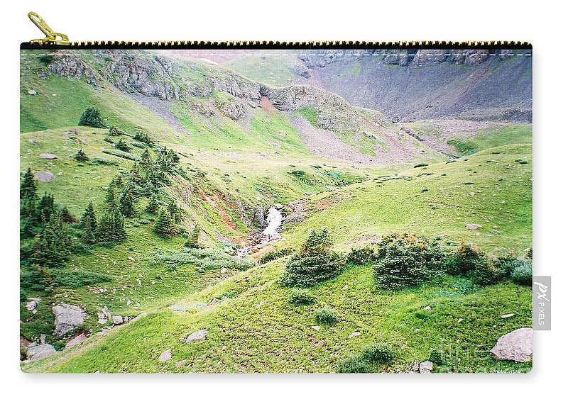 Overlooking Beauty Carry-all Pouch featuring the photograph Overlooking Beauty by Jennifer Lavigne