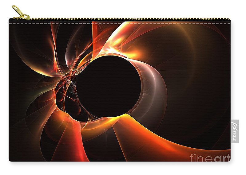 Apophysis Carry-all Pouch featuring the digital art Oxide by Kim Sy Ok
