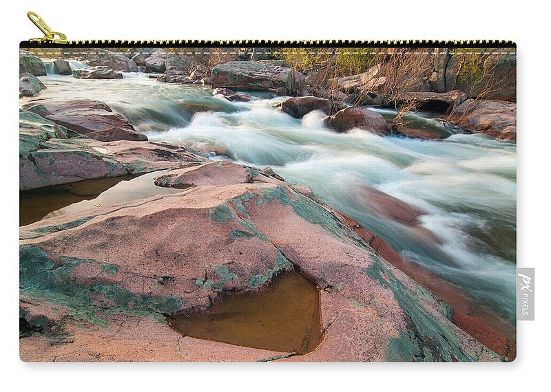 Castor River Carry-all Pouch featuring the photograph Ozark Stream by Steve Stuller