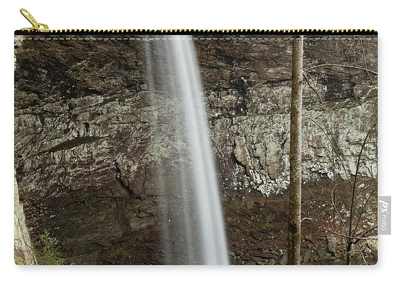 Carry-all Pouch featuring the photograph Ozone Falls II by Douglas Stucky