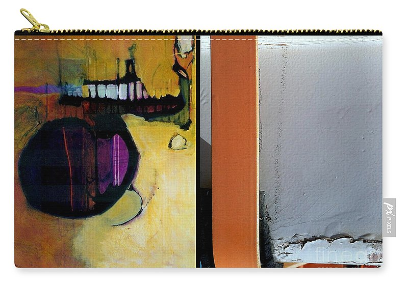 Abstract Photography Carry-all Pouch featuring the painting p HOTography 146 by Marlene Burns