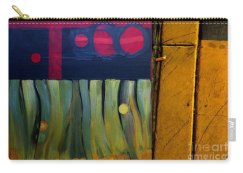 Marlene Burns Carry-all Pouch featuring the painting p HOTography 53 by Marlene Burns