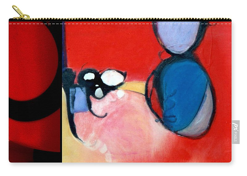 Marlene Burns Carry-all Pouch featuring the painting p HOTography 78 by Marlene Burns