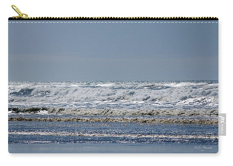 Ocean Carry-all Pouch featuring the photograph Pacific Coast by Jeanette C Landstrom