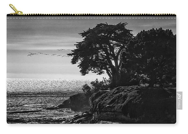 Birds Carry-all Pouch featuring the photograph Pacific Ocean by Erika Fawcett