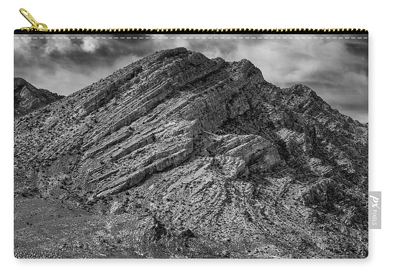 Pahranagat Mountains Carry-all Pouch featuring the photograph Pahranagat Mountains by Greg Nyquist