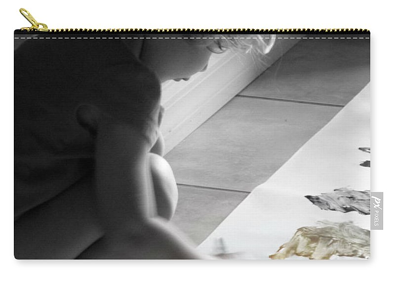 Children's Room Carry-all Pouch featuring the photograph Paint Magic by Valerie Reeves