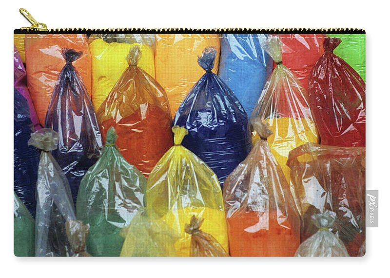 Vietnam Carry-all Pouch featuring the photograph Paint Pigment by Rick Piper Photography