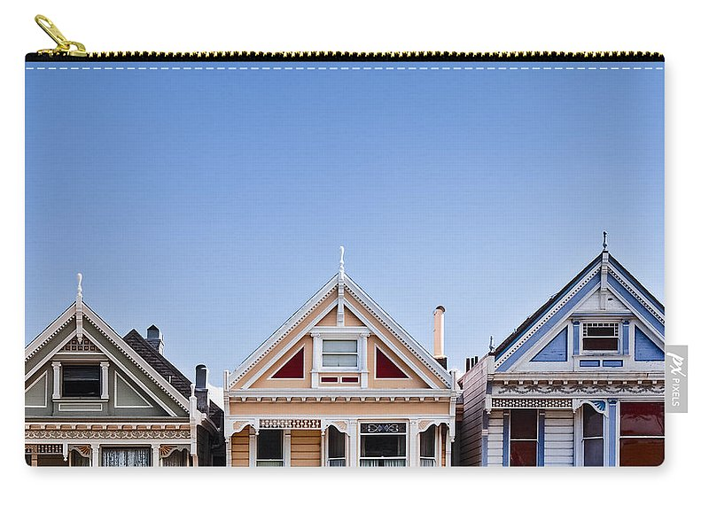 Painted Ladies Carry-all Pouch featuring the photograph Painted Ladies by Dave Bowman