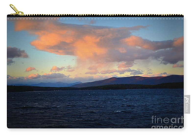 Cloud Carry-all Pouch featuring the photograph Painted Sky by Kevin Fortier