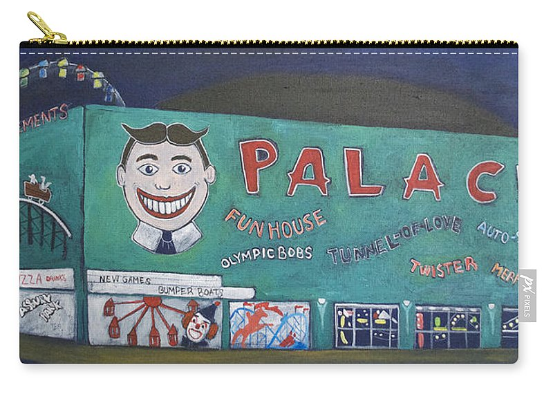 Tillie Carry-all Pouch featuring the painting Palace 2013 by Patricia Arroyo