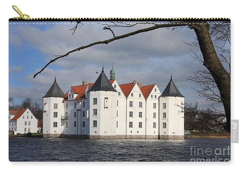 Palace Carry-all Pouch featuring the photograph Palace Gluecksburg - Germany by Christiane Schulze Art And Photography