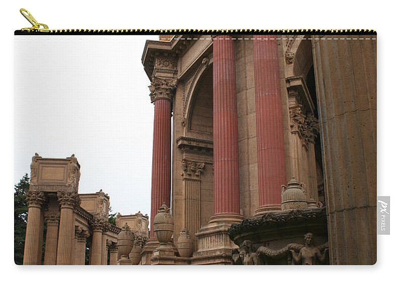 San Francisco Carry-all Pouch featuring the photograph Palace Of Fine Arts by Christiane Schulze Art And Photography