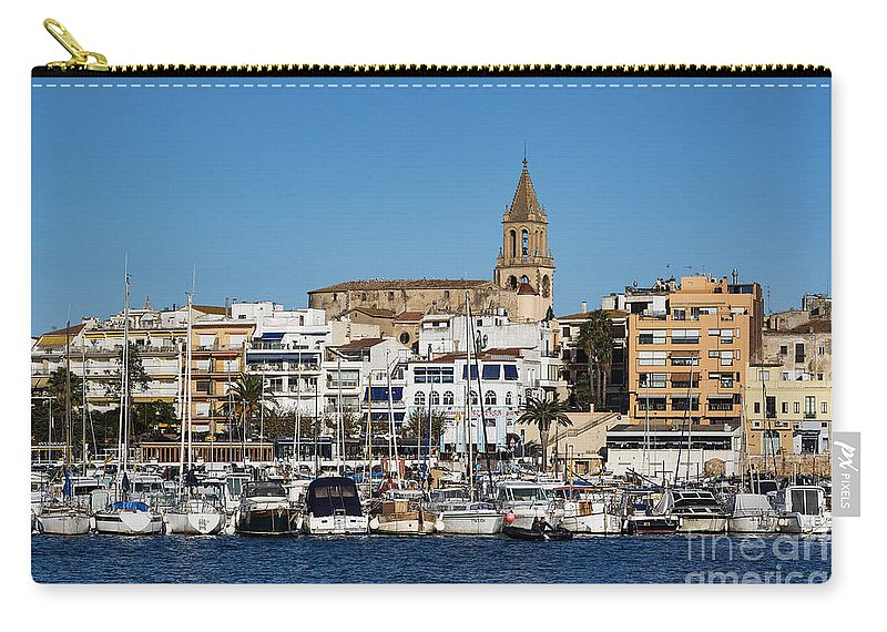 Catalonia Carry-all Pouch featuring the photograph Palamos Spain by John Greim