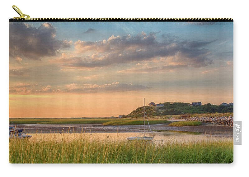 Scenics Carry-all Pouch featuring the photograph Pamet Harbor In Afternoon by Betty Wiley