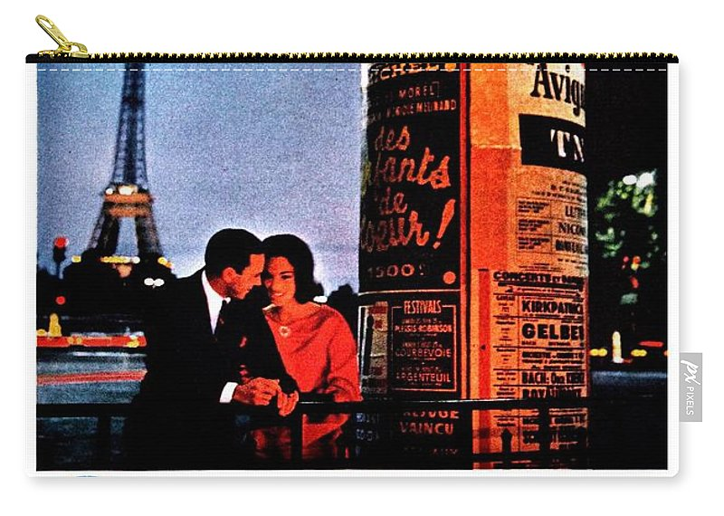 Pan Am Carry-all Pouch featuring the photograph Pan Am To Paris by Benjamin Yeager
