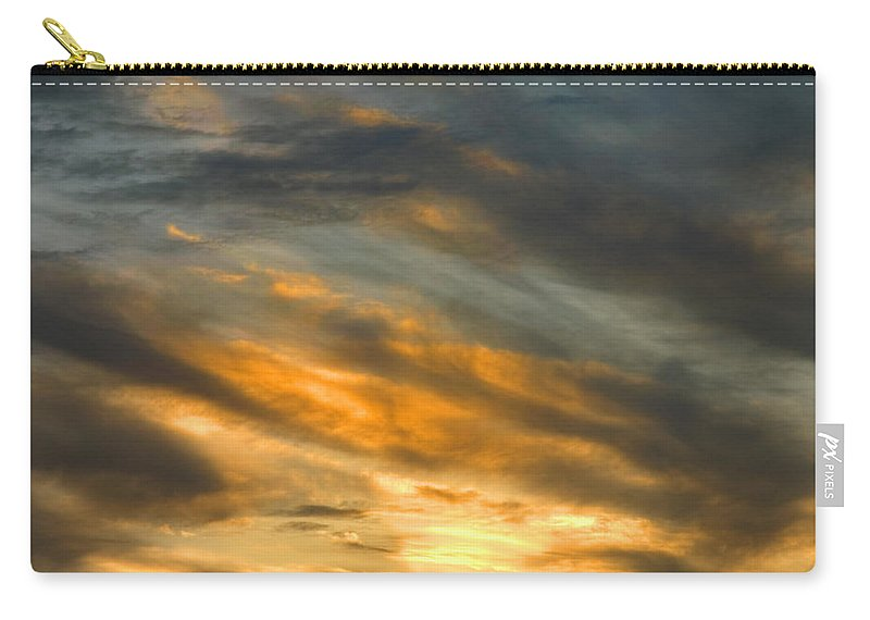 Desert Carry-all Pouch featuring the photograph Panamint Sunset by Joe Schofield