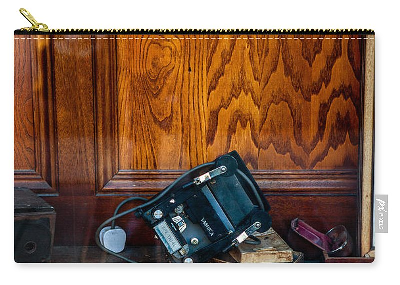 Old Camera's Carry-all Pouch featuring the photograph Pancam by Sennie Pierson