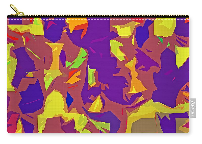 women's Fashion girl's Fashion fashion Design Fashion Design Abstract abstract Art Abstract Carry-all Pouch featuring the photograph Paper Cuts by Bill Owen