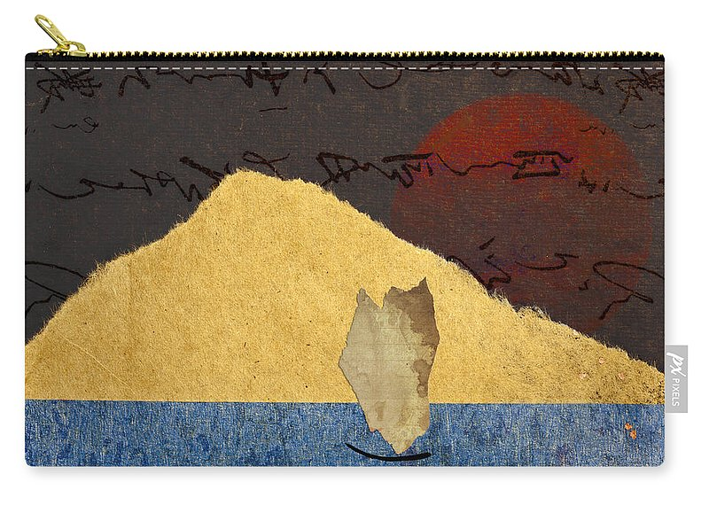 Paper Carry-all Pouch featuring the photograph Paper Sail by Carol Leigh