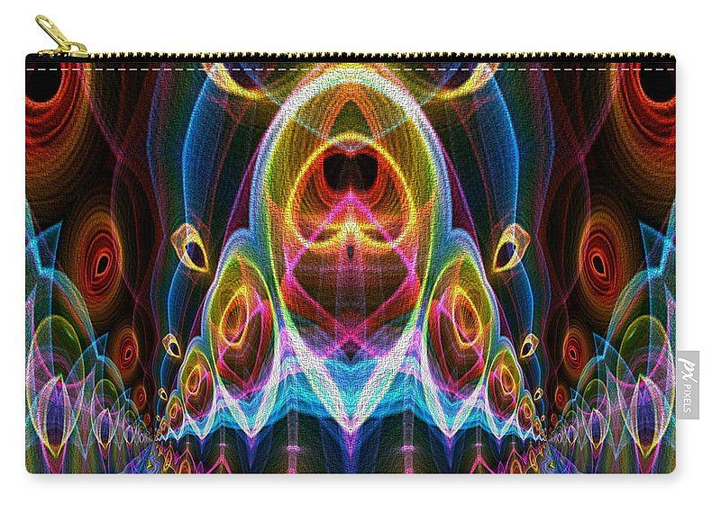 Series Echo Carry-all Pouch featuring the digital art Parade Down Main Street by Owlspook