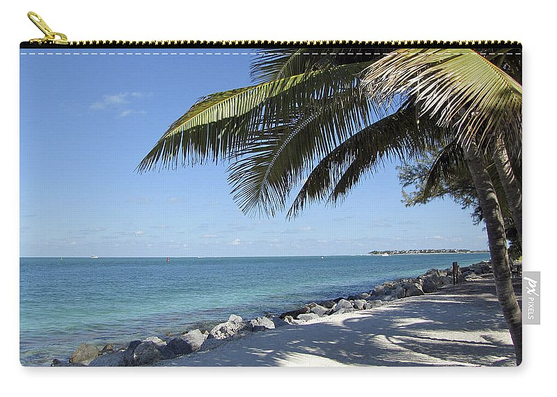 Tropical Carry-all Pouch featuring the photograph Paradise - Key West Florida by Bob Slitzan