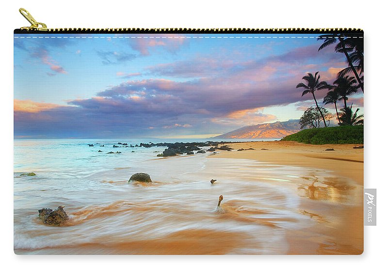 Sunrise Carry-all Pouch featuring the photograph PAradise Dawn by Mike Dawson