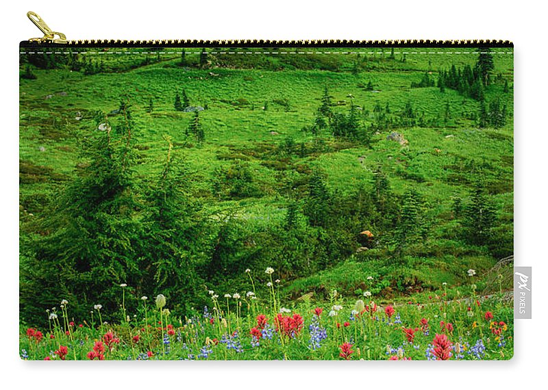 America Carry-all Pouch featuring the photograph Paradise by Inge Johnsson