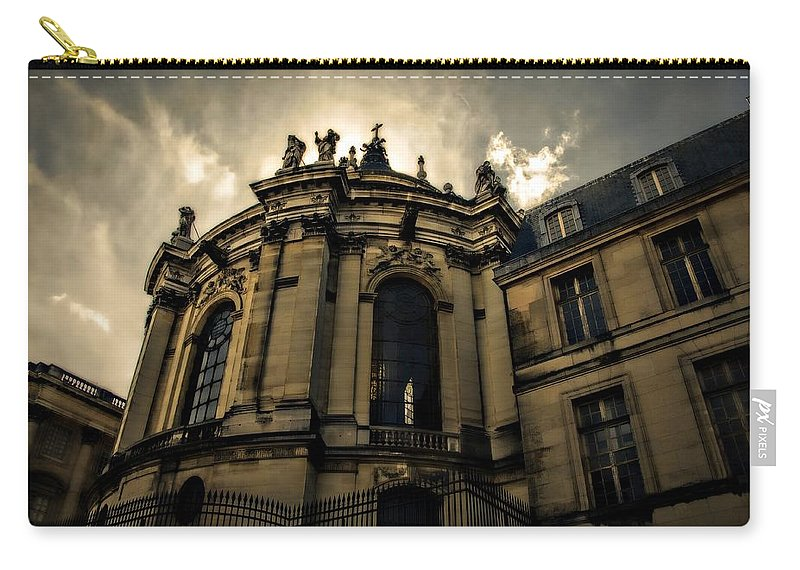 Carry-all Pouch featuring the photograph Paris by Bill Howard