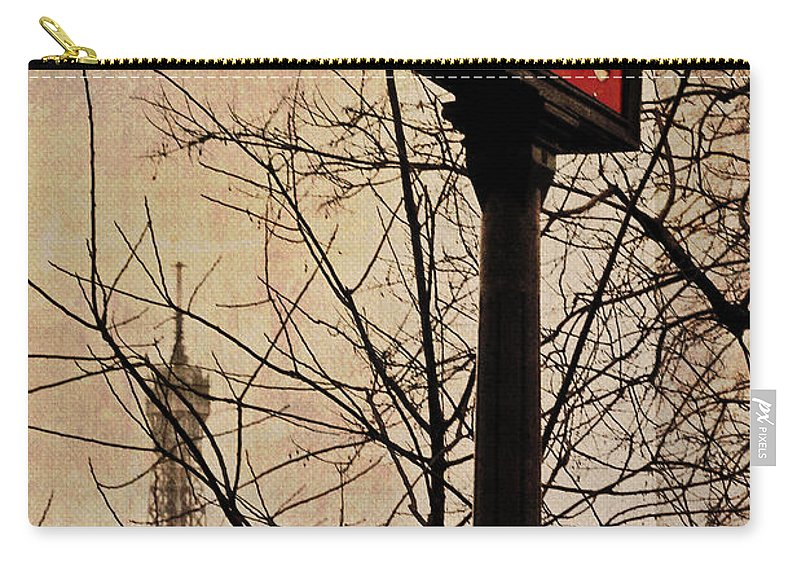 Paris Carry-all Pouch featuring the photograph Paris Metro by David Pringle