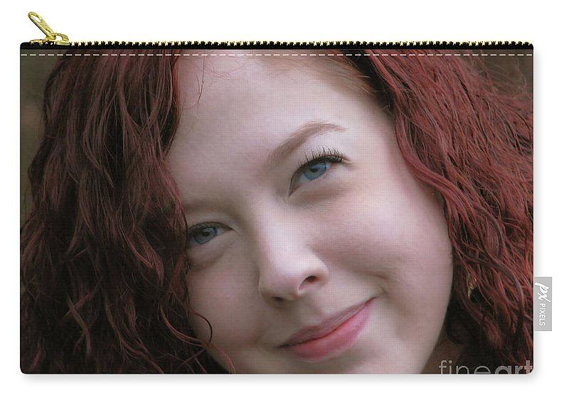 Portrait Carry-all Pouch featuring the photograph Part Of My Heart by Rory Sagner
